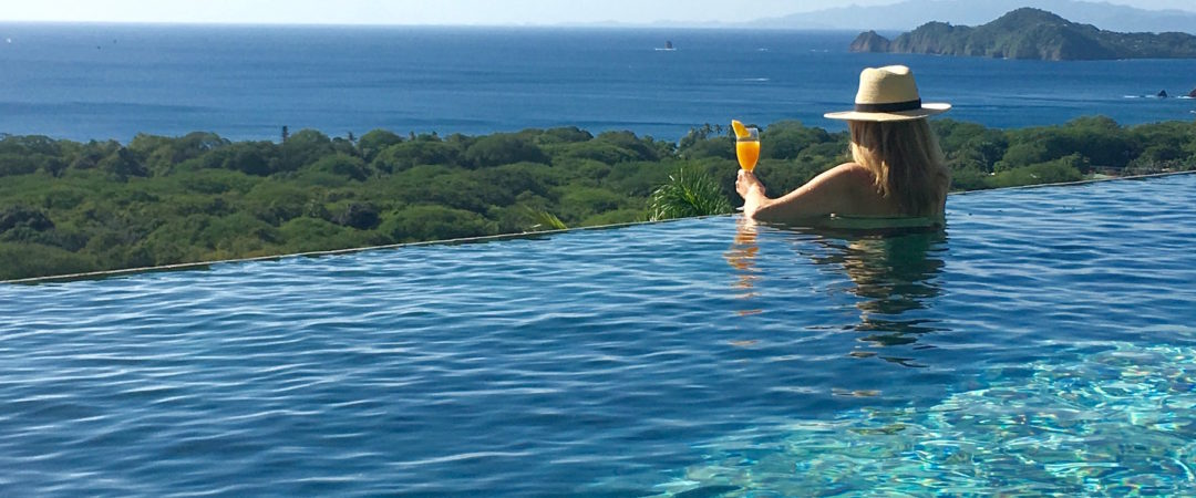 Costa Rica, Infinity pool, Tanya Foster, LuxeBae, luxury travel