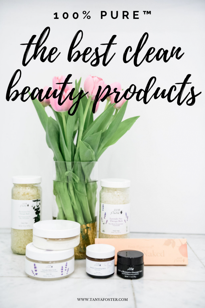 100% pure products the best clean beauty products