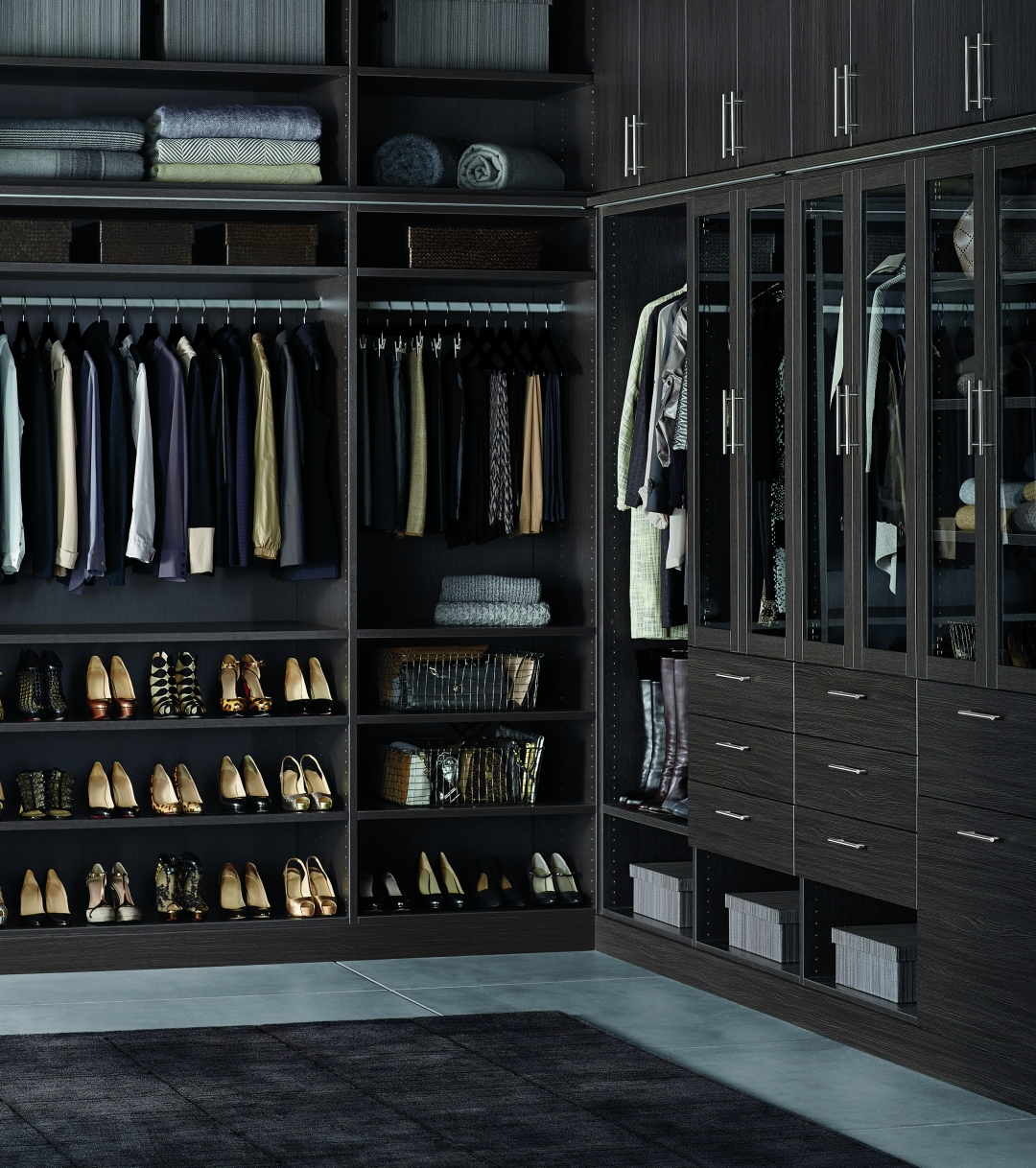 NEWS FLASH: The Container Store Is Getting In To The Designer Closet  Business. I Stopped By The Store On Tuesday Night To Preview TCS Closets  And I Am ...