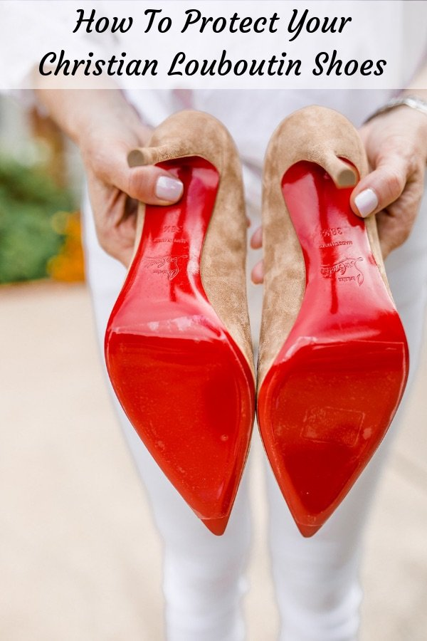 online store 62d8c b63d0 How to Protect your Christian Louboutin Red Soles | Tanya Foster