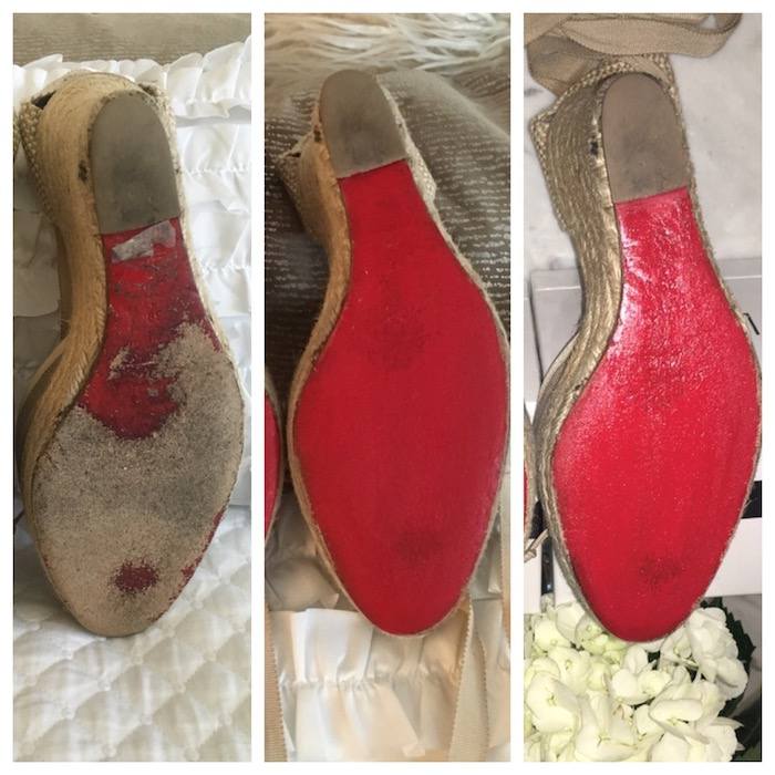 super popular 377b1 f0303 Restore Your Christian Louboutin Red Soles in 3 Steps ...