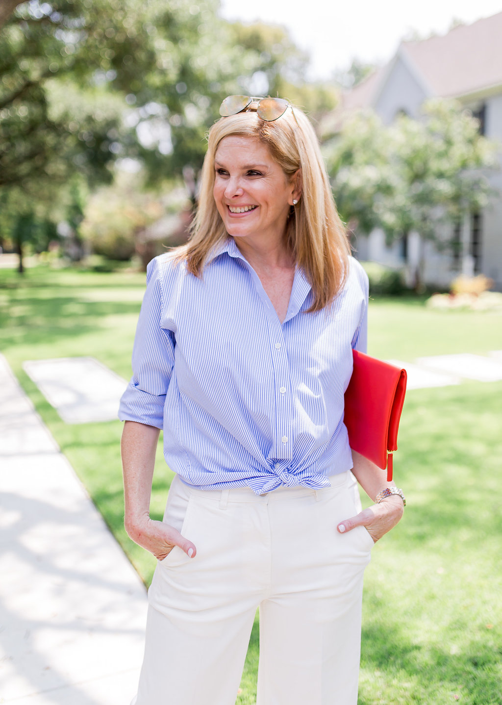 Relaxed And Casual With Everlane Tanya Foster Dallas