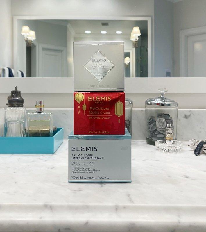 Three Elemis products