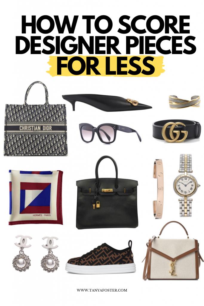 how to score designer pieces for less designer item collage
